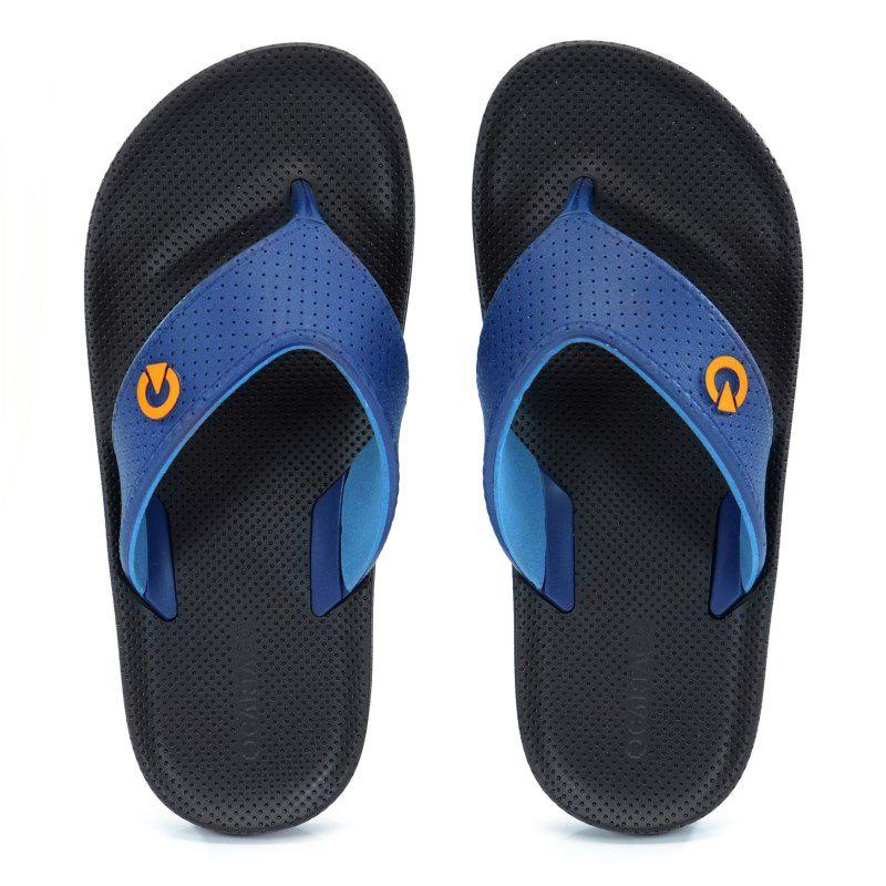 Chinelo Cartago Siena Marrom Azul - 11081