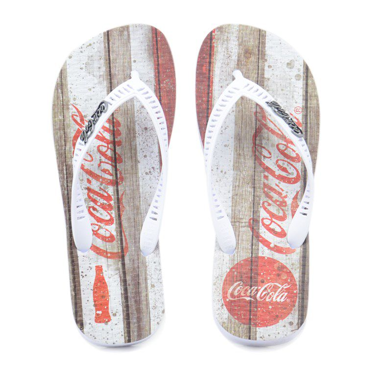 Chinelo Coke Retro