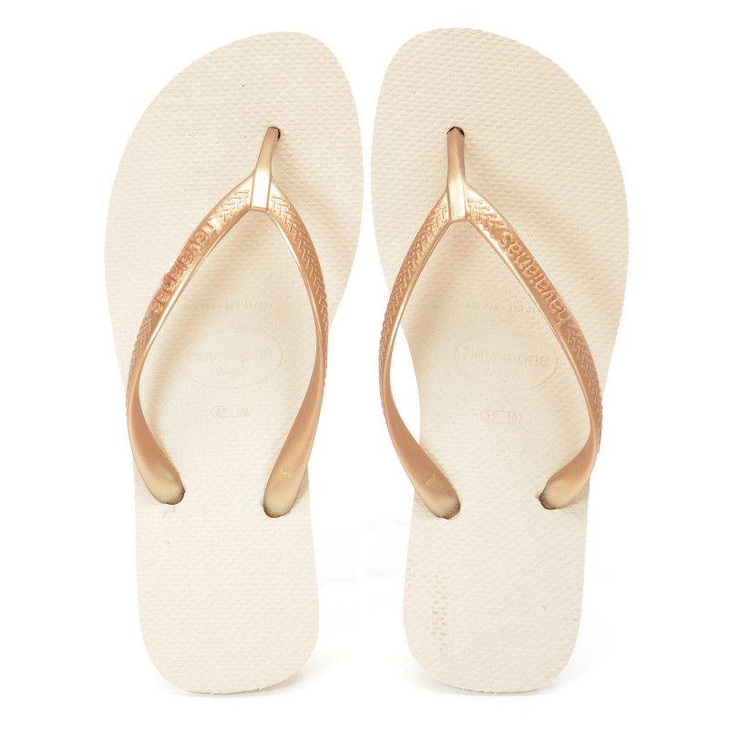 Chinelo Havaianas High Light Bege Palha - 4001030
