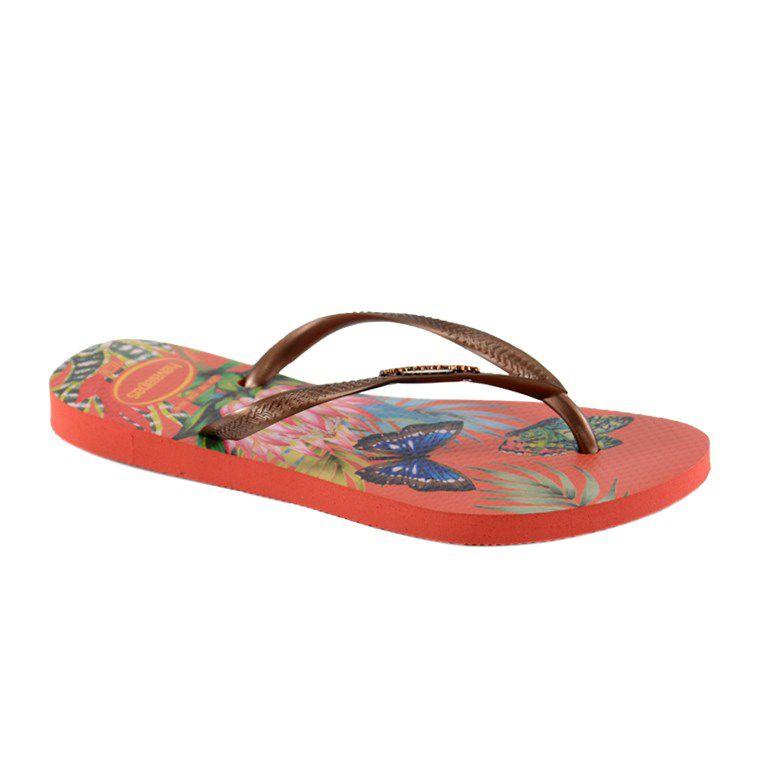 Chinelo Havaianas Slim Tropical Morango - 4122111