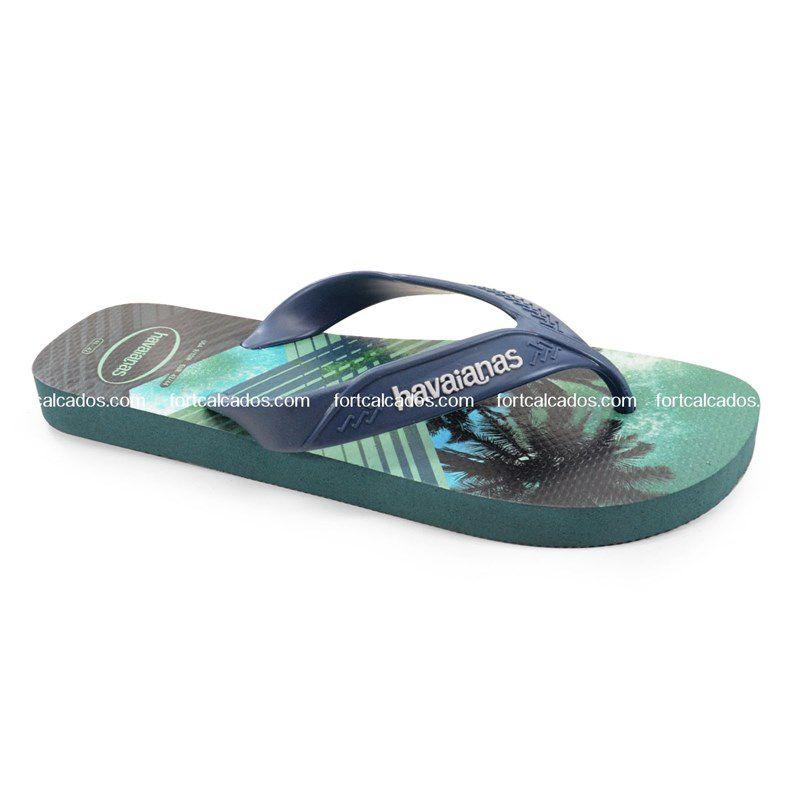 Chinelo Havaianas Surf Acquarius - 4000047