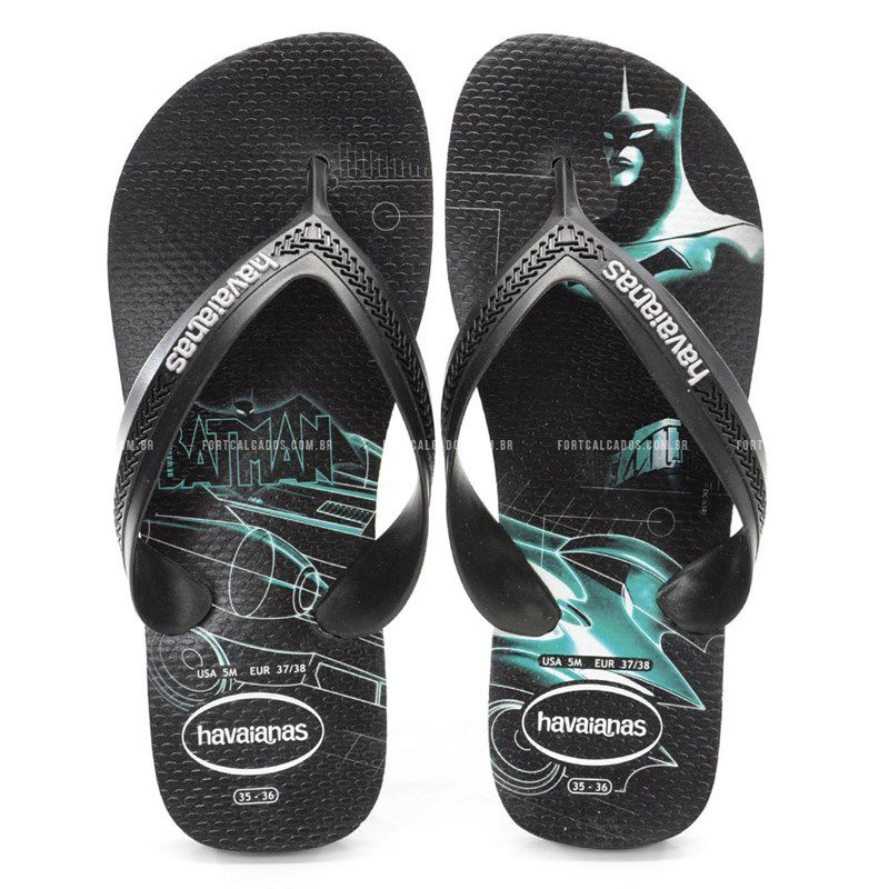 Chinelo Kids Max Herois