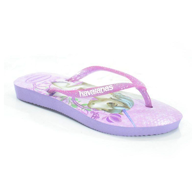 Chinelo Kids Slim Princesa Sofia