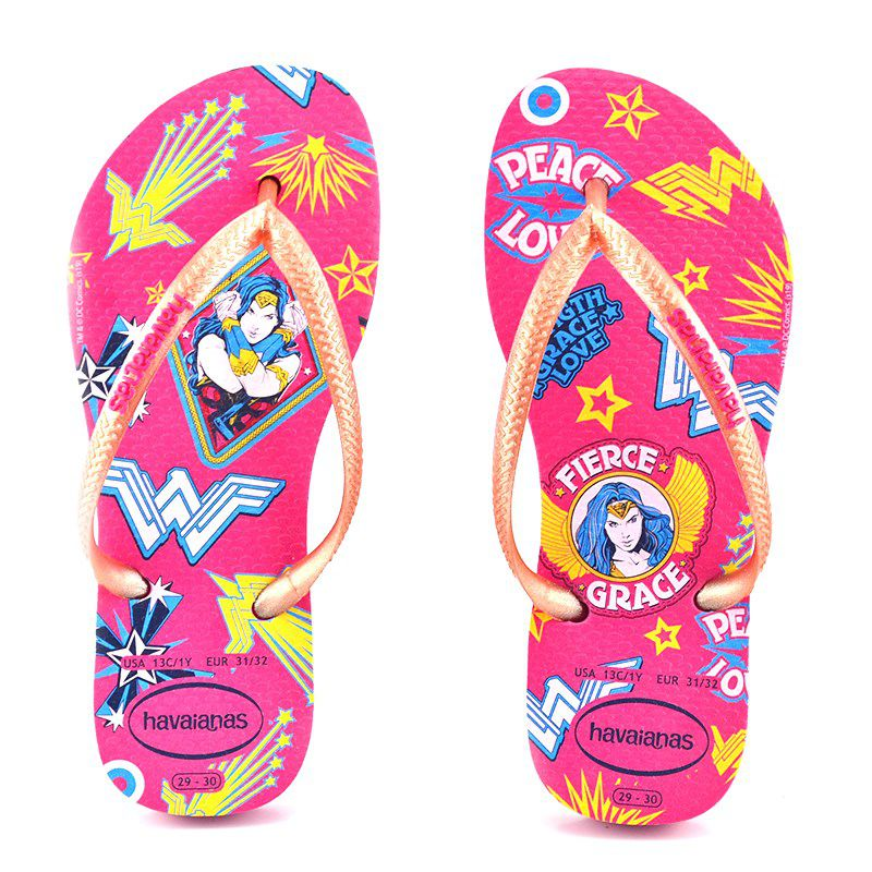 Chinelo Kids Wonder Woman