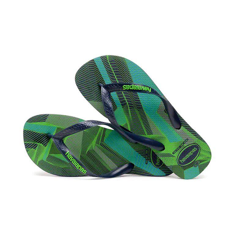 Chinelo Masculino Havaianas Trend Marinho Verde - 4103358