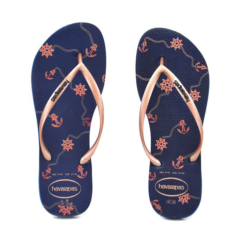 Chinelo Slim Nautical