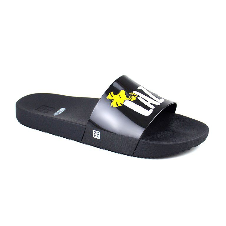 Chinelo Zaxy Snoopy Slide