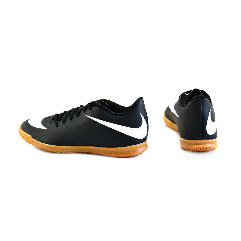 Chuteira Nike Bravata Indoor Preto Branco - 844441-001