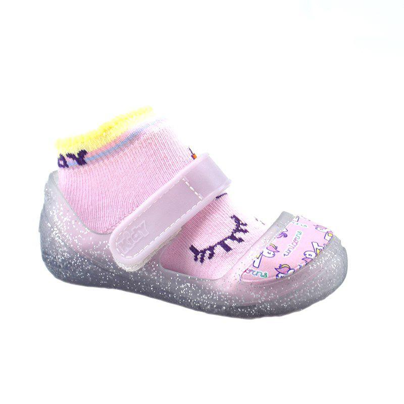 Clog Kidy Promocao Infantil Meninas Cristal Lilas-180-1001-5306