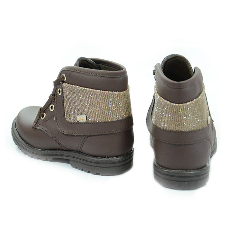 Coturno Kidy Fashion Baby Infantil Meninos Marrom-0840031