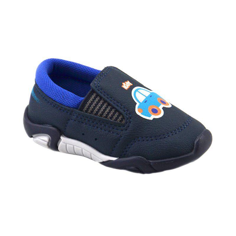 Mocassim Infantil Kidy Promocao Marinho Azul Royal - 008-0481-1783
