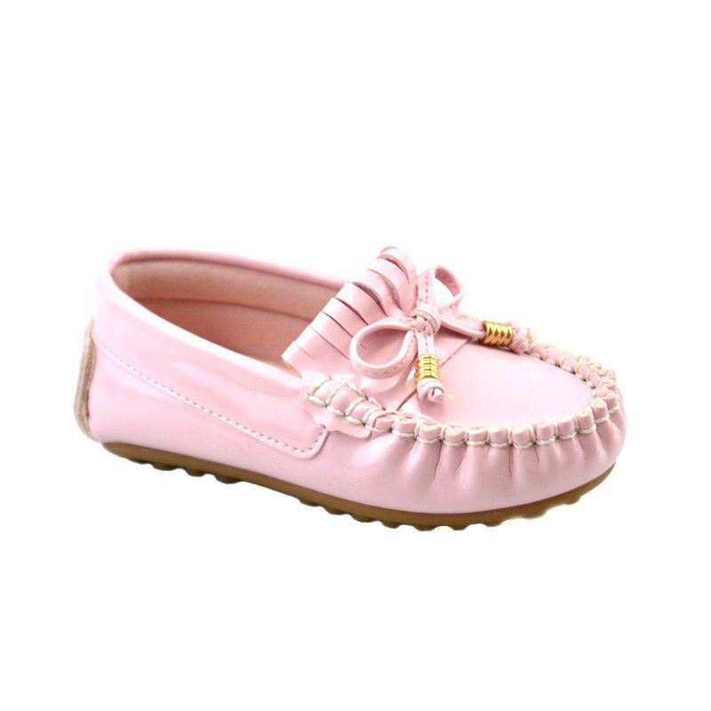 Mocassim Kidy Promocao Infantil Meninas Nude-016-1004-4005