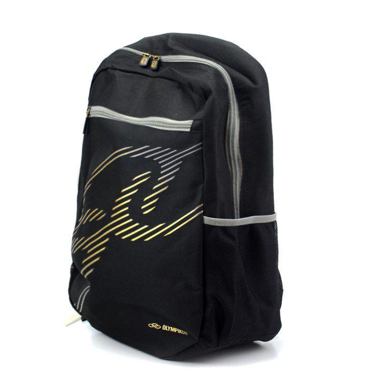 Mochila Olympikus Basic Preto Gold - Oiuwa91800