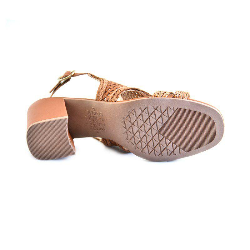 Sandalia Dakota Salto Medio Tranca Mascavo-Z5442