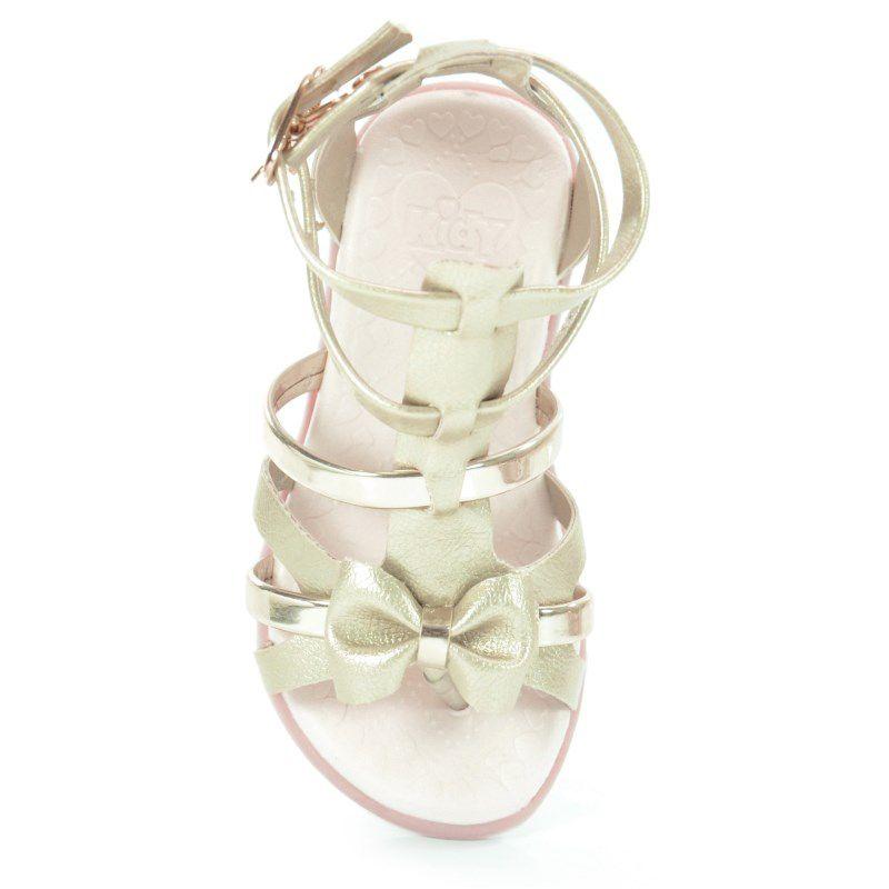 Sandalia Infantil Kidy Baby Nina Ouro-0020565