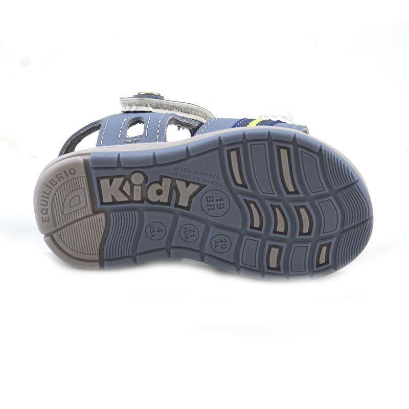 Sandalia Kidy Baby Equilibrio Azul Estone Azul Indigo-0010859