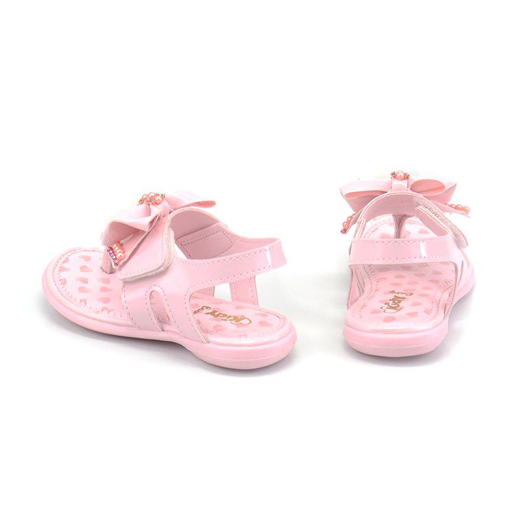 Sandalia Kidy Baby Equilibrio Infantil Meninas Nude-0020645