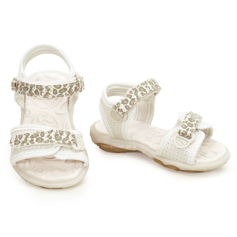 Sandalia Kidy Baby Marfim-0020503