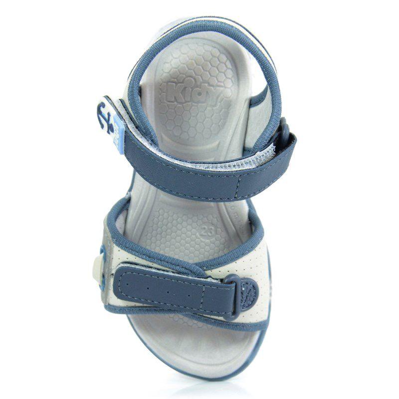 Sandalia Kidy Light Gelo Marinho Azul Jeans-1630041