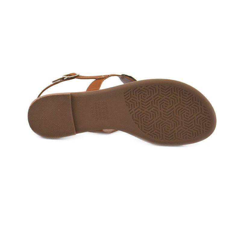 Sandalia Rasteira Dakota Mascavo-Z5252
