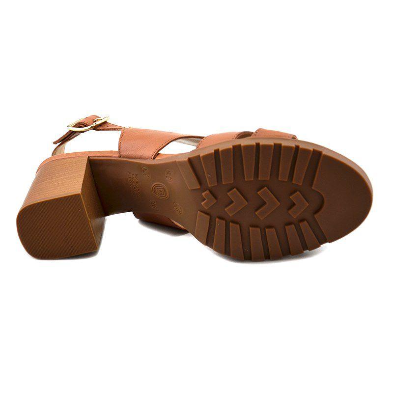 Sandália Salto Alto Bottero Amêndoa - 306004