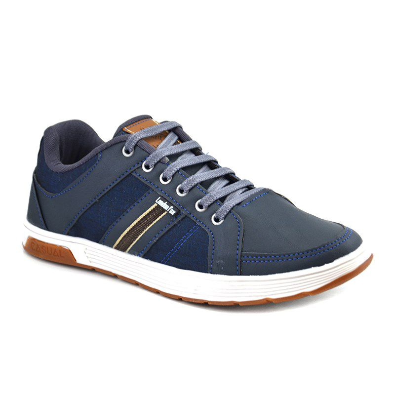 Sapatenis London Fox Masculino Marinho-Lf34