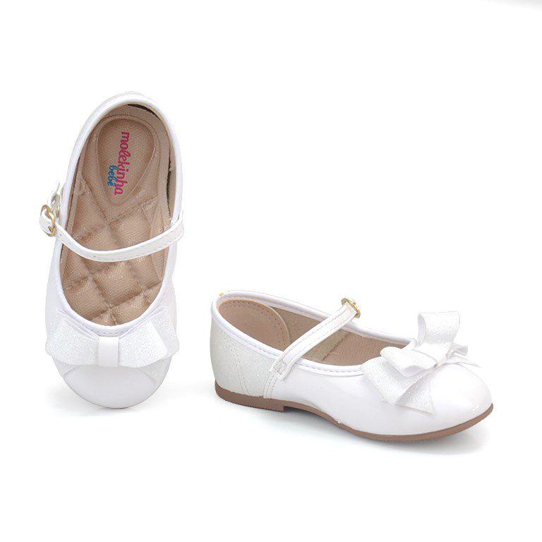 Sapatilha Infantil Molekinha Branco Furtacor Branco - 2106176