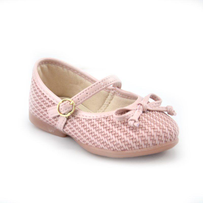 Sapatilha Kidy Bailarina Infantil Meninas Nude-0150280