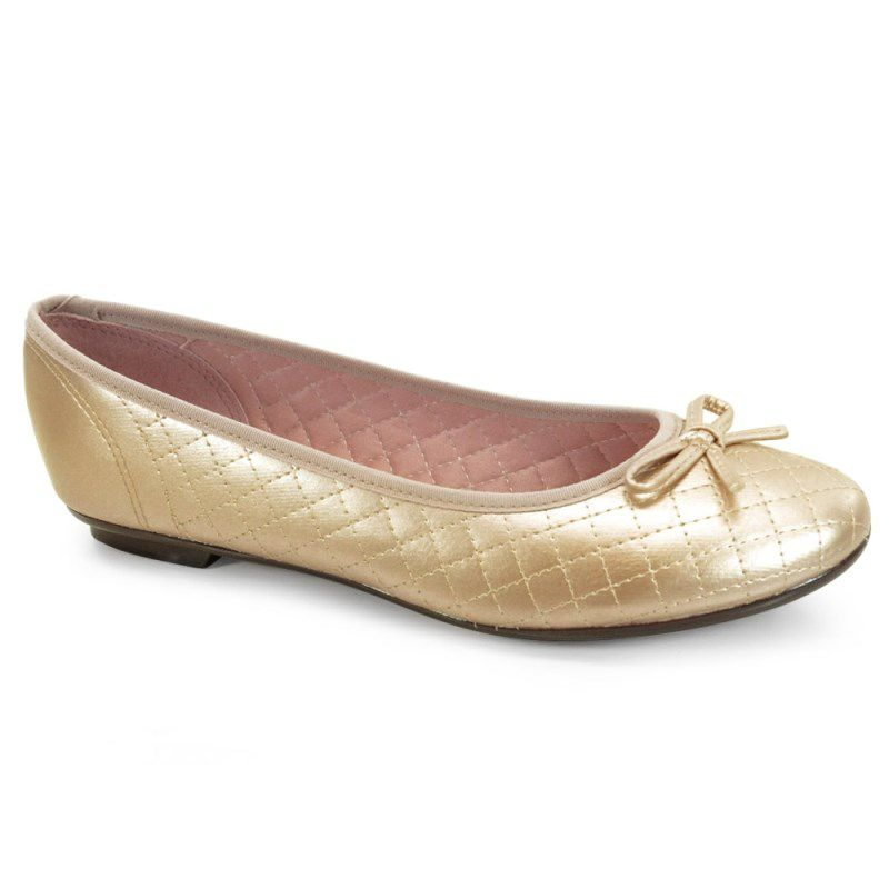 Sapatilha Moleca Ouro - 5027666
