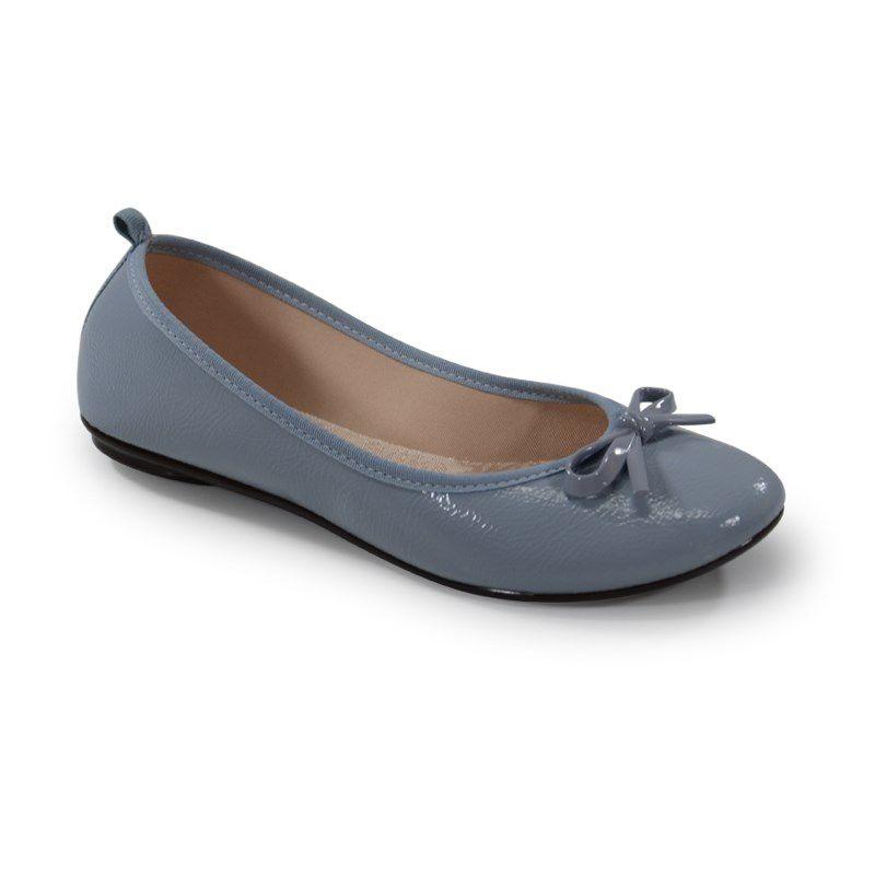 Sapatilha Moleca Verniz Jeans - 5314206