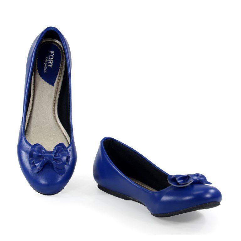 Sapatilha Numeração Especial Mariana Azul - 06