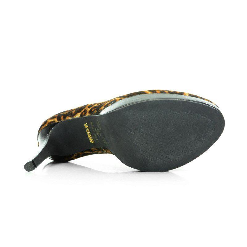 Sapato Divalesi Salto Alto Leopardo - 87001