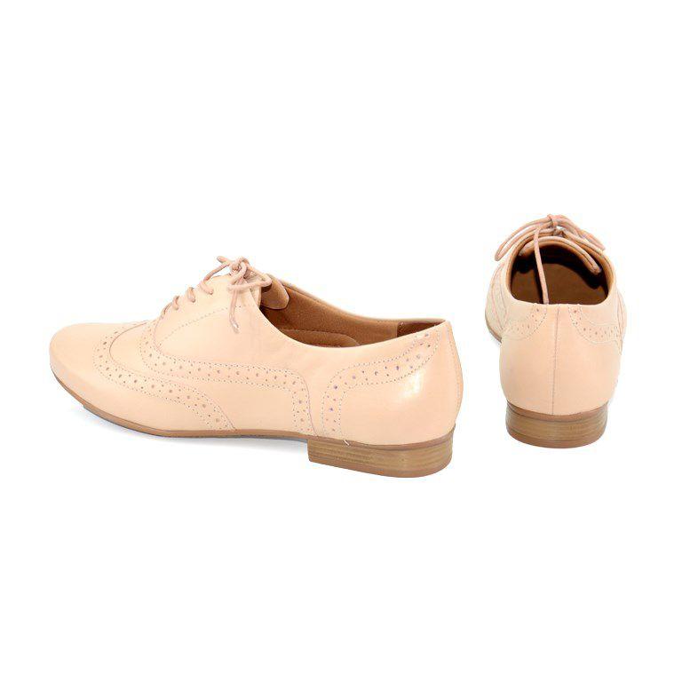 Sapato Feminino Oxford Bottero Marfim - 259401