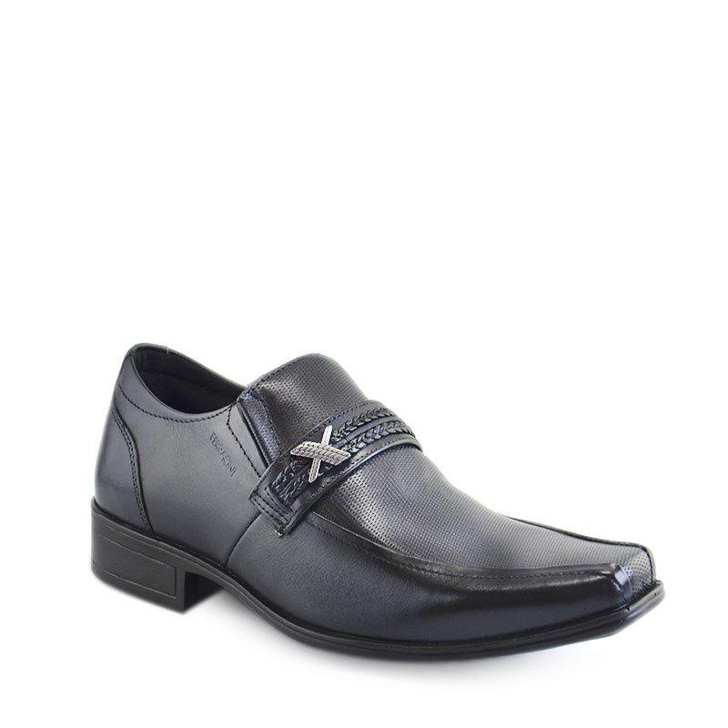 Sapato Ferracini Bari Capri Preto - 5130-537g