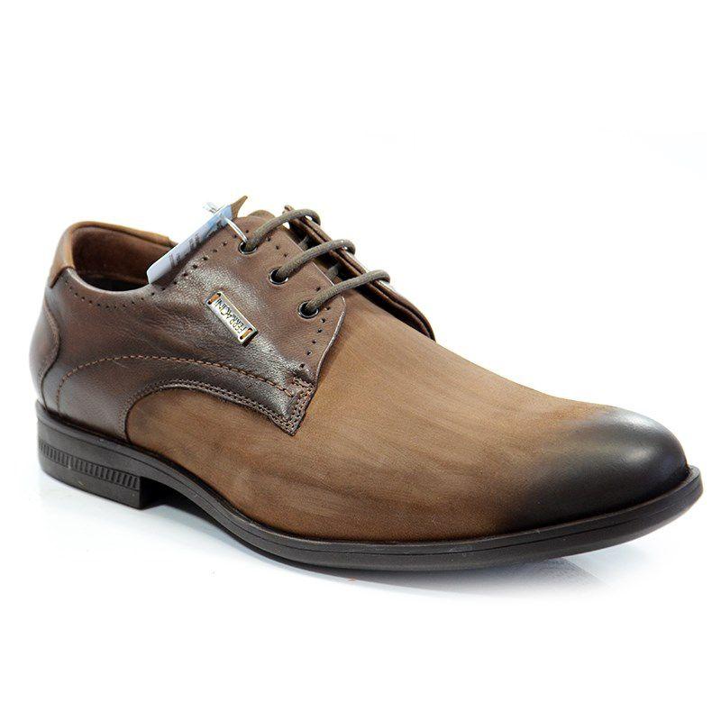 Sapato Ferracini Dublin Degrade Chocolate - 5845-1507h