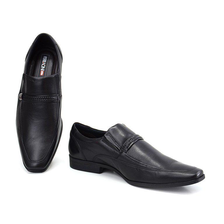 Sapato Ferracini Liverpool Preto - 4300-281g