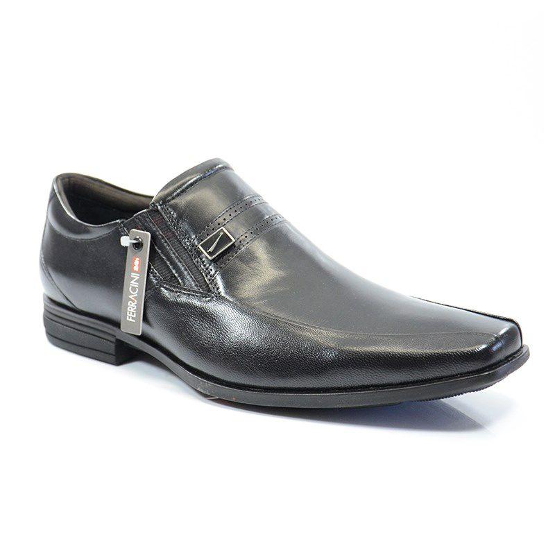 Sapato Ferracini Naruega Preto - 3983-1511a