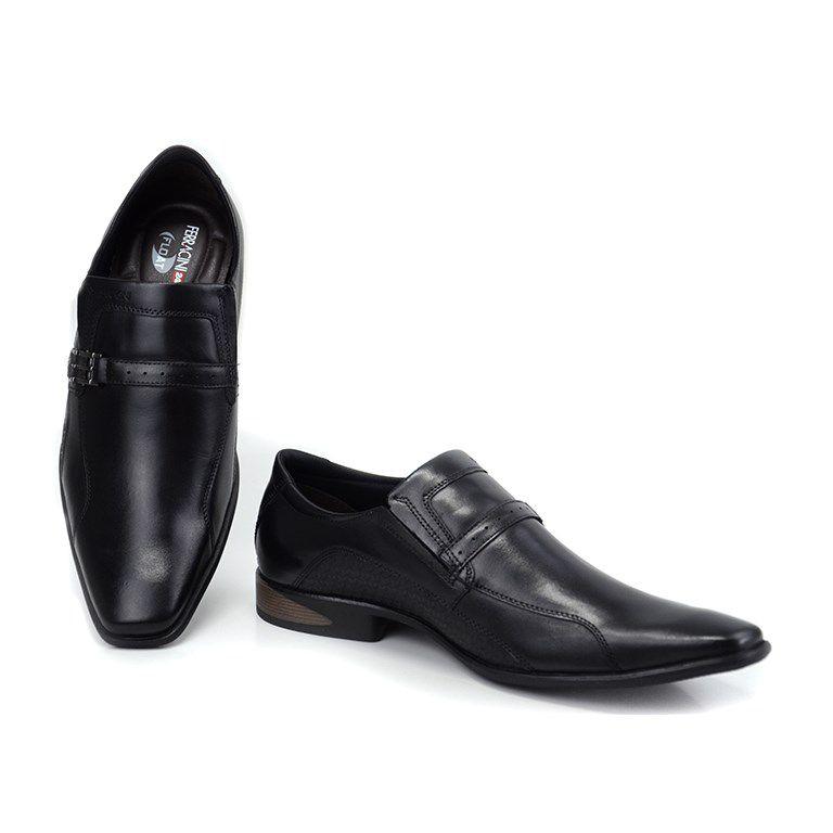 Sapato Ferracini Sidney Preto - 3672-203g