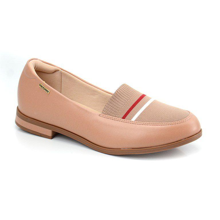 Sapato Modare Salto Baixo Nude Multi Nude - 7338102
