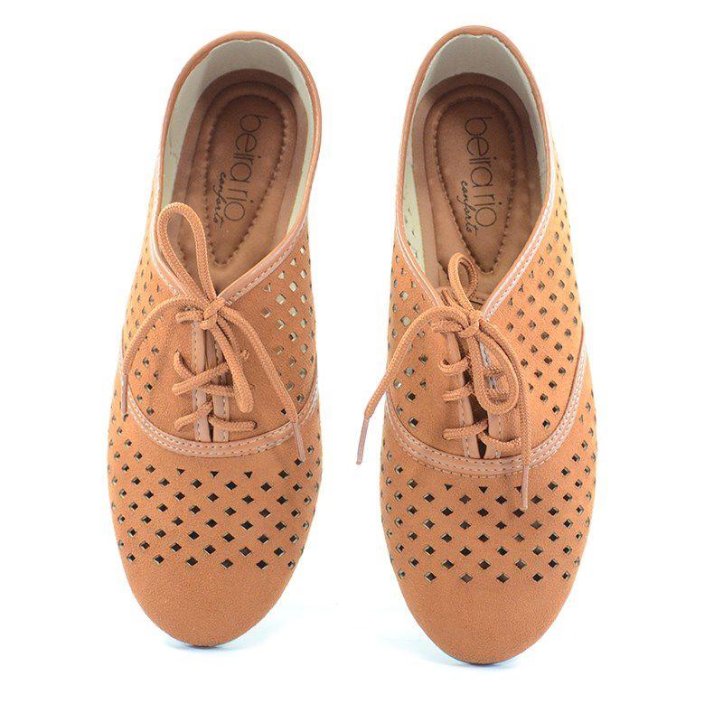 Sapato Oxford Beira Rio Caramelo - 4150206