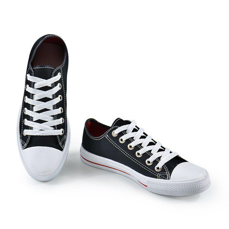 Tênis Star Feet Lona Preto - 3600fl
