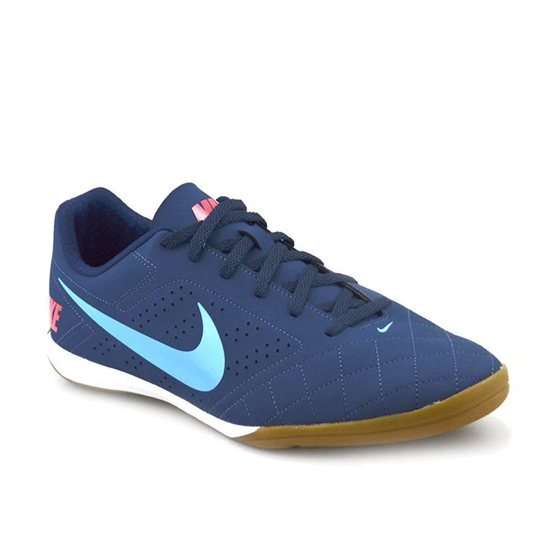 Tênis Chuteira Nike Indoor Beco 2 Azul Celeste - 646433-402