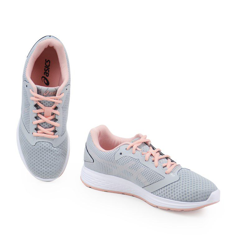 Tenis Feminino Asics Patriot 10 A Mid Grey Frosted Rose - 1z22a006-020