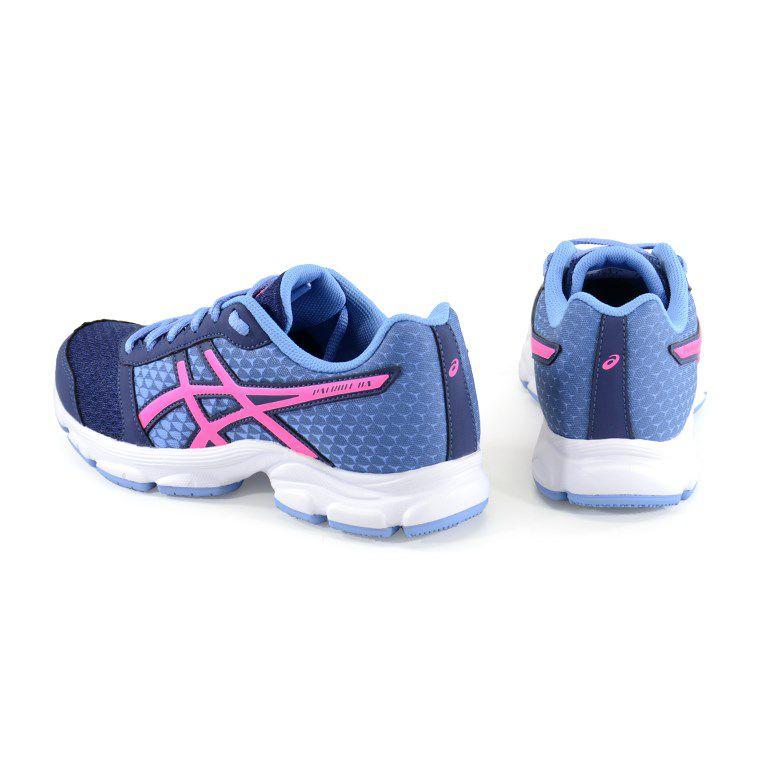 Tenis Feminino Asics Patriot 8 A Marinho Pink Violeta - T060-4920