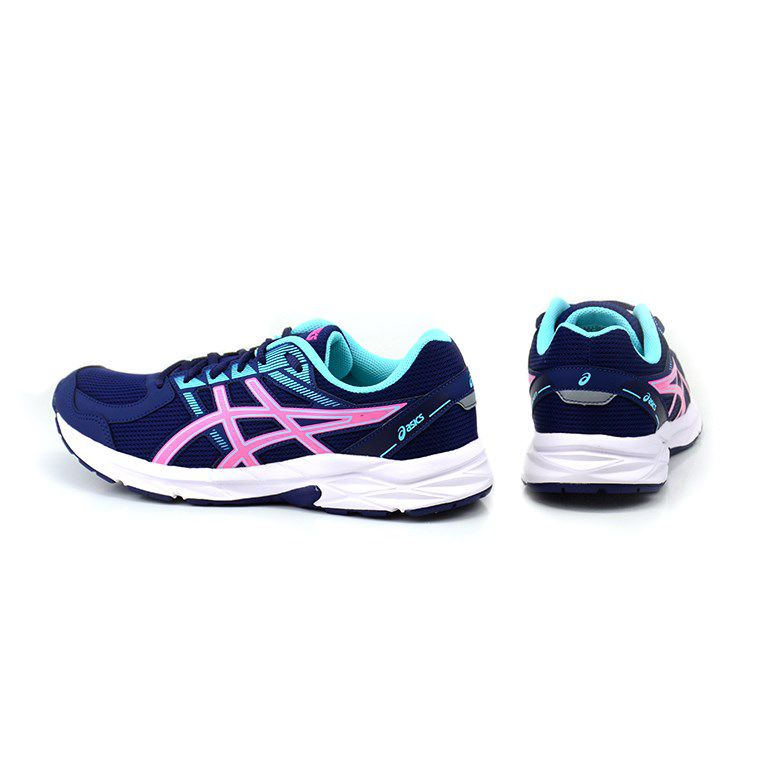 Tênis Feminino Asics Raiden Indigo Blue Hot Pink - 1z12a002-400