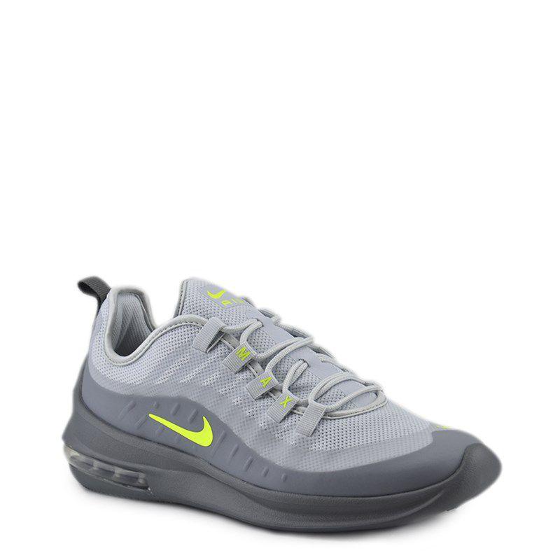tenis nike air max feminino cinza e verde
