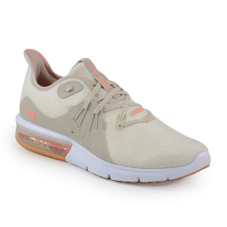 Tênis Feminino Nike Air Max Sequent 3 Summer Creme Salmão - A02675-200