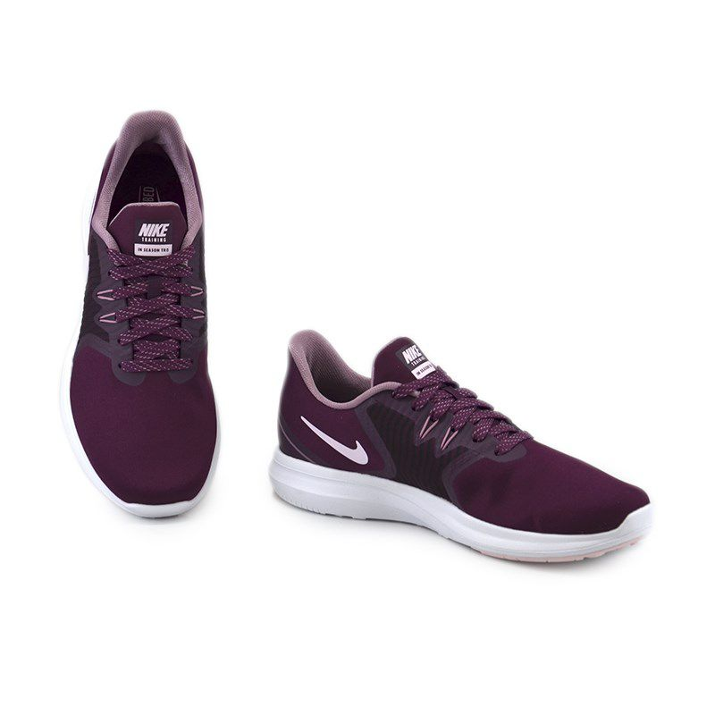 Tênis Feminino Nike In Season Tr 8 Bordô Rosa - Aa7773-602