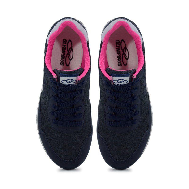 Tênis Feminino Olympikus Fancy Marinho Pink - 265
