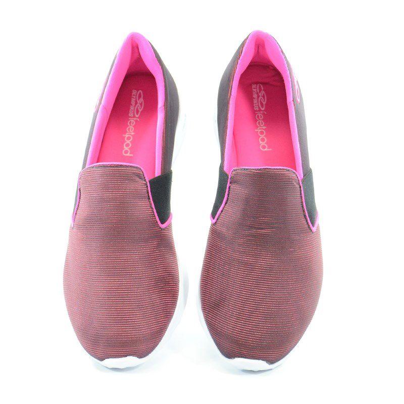 Tênis Feminino Olympikus Love Preto Pink - 362